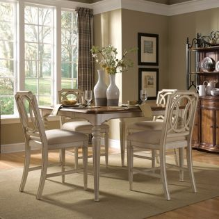 Provenance 761  Dining Set (1 Table + 4 Chairs)