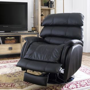 4-4012 Lazer II  Leather Recliner