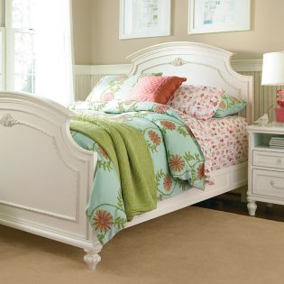 Gabriella 136A040  Panel Full Bed (침대) (매트 규격: 134cmx 193cm)