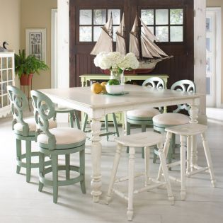 Summer Home 1051-814  Dining Set (1 Table + 4 Chairs)