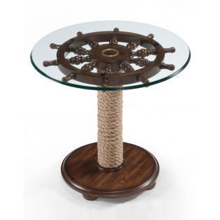 T2214-35T/35B  Round Accent Table