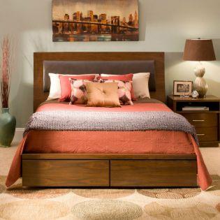 322 Sydney  Panel Bed (침대+협탁+화장대)