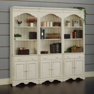Barton Park BKD28-W   Door Bookcase (1 Pc)
