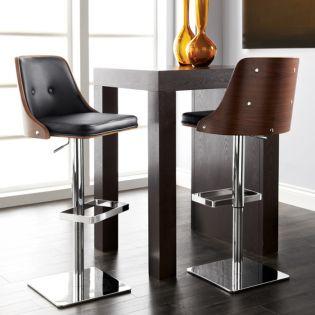 04032-Braiden  Adjustable Bar Stool