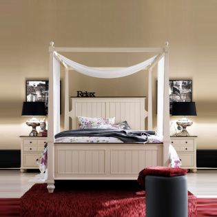 B1694  Canopy Bed (Bed Only) ~Dream Canopy Bed~