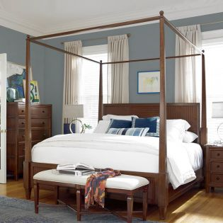 Silhouette 352280  Canopy Bed (침대+협탁+화장대)