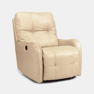1183-50  Leather Recliner