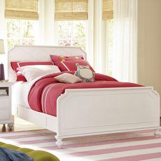 437A040  Panel Full Bed (침대) (매트 규격: 134cmx 193cm)