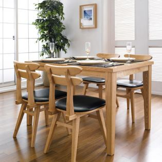 Robin-4C  Dining Set(1 Table + 4 Chairs)