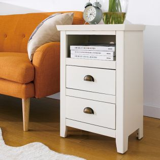 B2007-Ivory  Side Table
