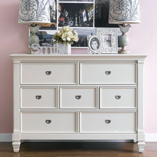 B3097-20C-Cream Drawer Dresser