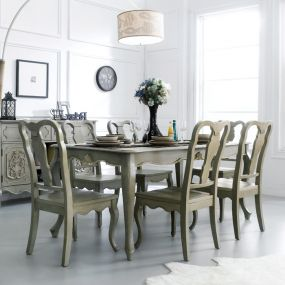 Liberty-6  Dining Set (1 Table + 6 Chairs)