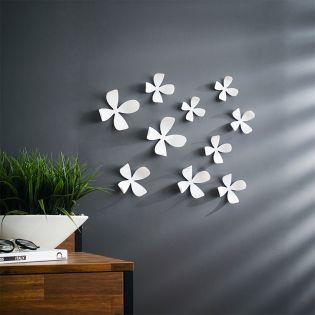 1008099-660 Wallflower-White-10 Wall Décor