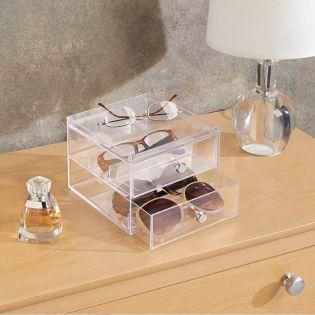 39660ES  Drawers Cosmetic & Glasses