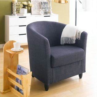 Club Lux-Anthracite  Resting Chair