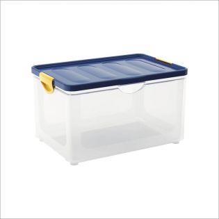 Clipper Blue-XL  Storage Box w/  Lid