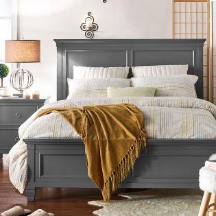 FR-Tamarack-Grey  Queen Panel Bed