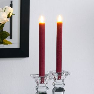 Brandon-Red  LED Candle