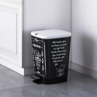 Chic Bin-M-Coffee Menu  Trash Bin