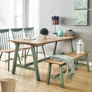 Miamint-6-Natural  Dining Table