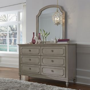 Emma 7870-1100  Mirror & Drawer Dresser