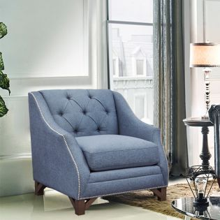 U4362-50 Blue Chair