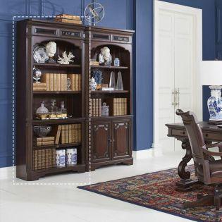 I39-333  Open Bookcase