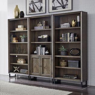 IHP-333-FSL  Open Bookcase