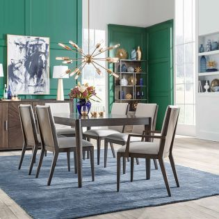 Palado 8460  Dining Set  ( 1Table + 2 Arm + 4 Side)