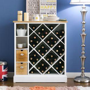 Henni  Wine & Storage Rack