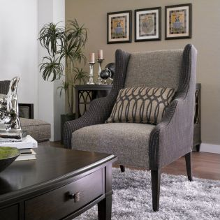 Intrigue 161514-5036  Wing Chair  ~Very Fine Quality~
