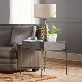 Curated 915A802  Oslo End Table