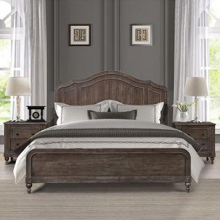 Middleton   Panel Bed(침대+협탁+화장대)