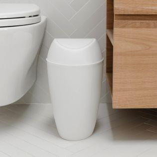 1012978-661 Trash Can White