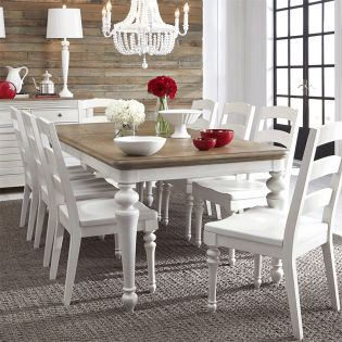 Farmdale 9770L  Dining Set  (1 Table + 4 Side)