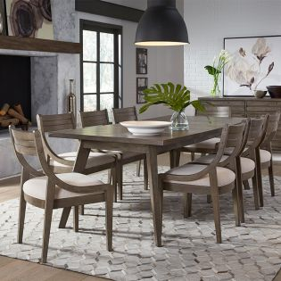 Greystone 9740L  Dining Set  (1 Table + 6 Side)