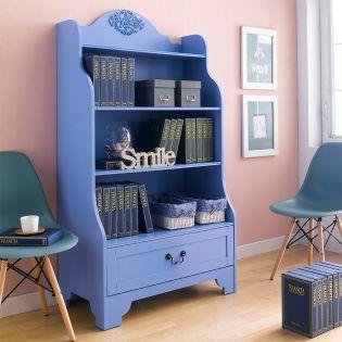 Eleanor-Blue   Bookcase