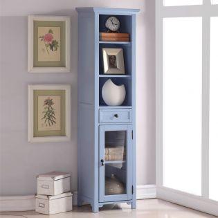 9047-Blue  Bookcase