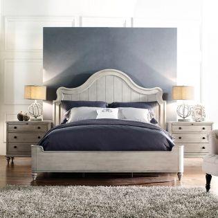 Deliah  Panel Bed (침대+협탁+화장대)