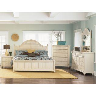 B1652  Panel Queen Bed (침대+협탁+화장대)
