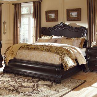 203135 LeGrand  Panel King Bed (침대+협탁+화장대)