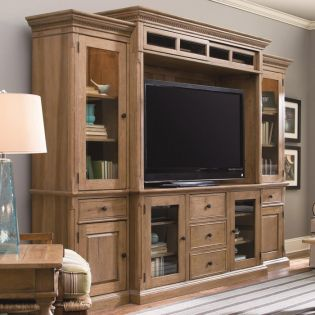 Down Home  Entertainment Wall Unit
