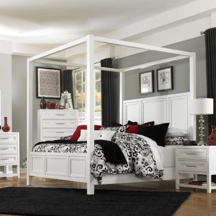B2304  Poster/Canopy Bed (침대 only)