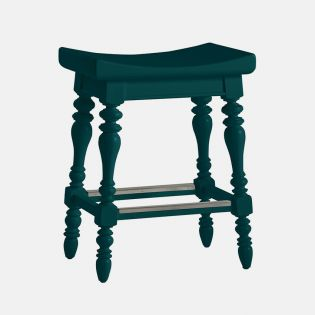 411-41-74 Teal  Counter Stool