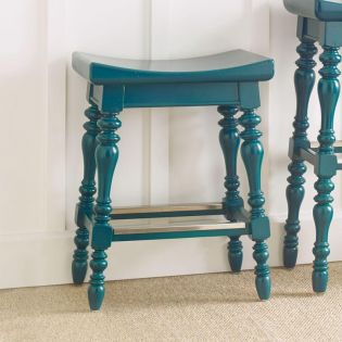411-51-74 Blue  Counter Stool