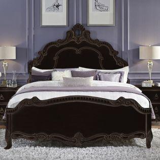 755 Aleah  Panel Bed (침대+협탁+화장대)