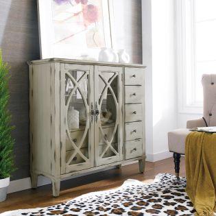 13386-White  Briley Cabinet
