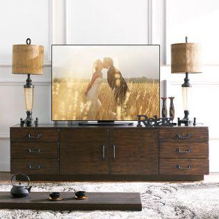 E3654-05  Wood TV Stand