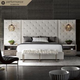 Brando  Panel Bed w/ Wings