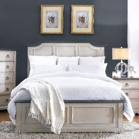 816 Avalon Cove  Queen Panel Bed (침대+협탁+화장대)